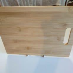 bamboo cutting board-back